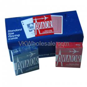Aviator Standard Size PLAYING CARDS - 12 pk