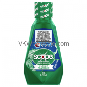 scope mouthwash essay It was the new scope whitening mouthwash i rushed out to buy it and began using it the scope whitening should still be on the market because it was very effective related documents: essay on reasons why new products fail.