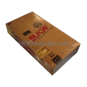 RAW Classic ROLLING PAPERS 1 1/4 Size - 24 CT