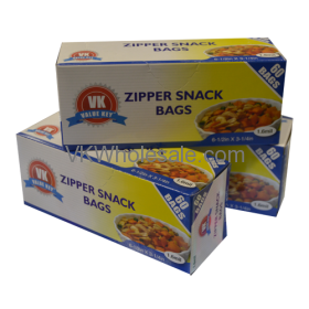 Snack Bag Zipper Seal