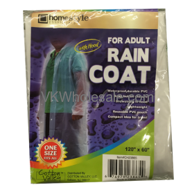 Adult Rain COAT 1PC