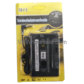 CAR Tape Cassette to 3.5mm Aux AUDIO Adapter