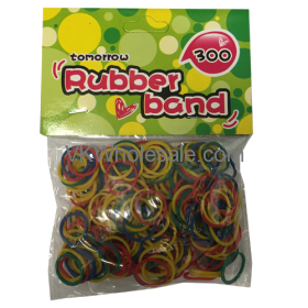 RUBBER BAND Assorted Colors 300PC 12 PK