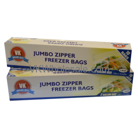 Jumbo Zipper Freezer 2 Gallon Size Wholesale