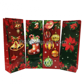 Christmas Gift Bags for Wine Bottle Wholesale