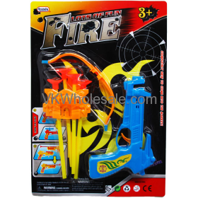 Fire 6.5'' Crossbow Play Set W/Soft DARTS