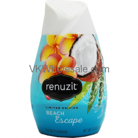 Renuzit Gel Air Freshener Beach Escape 7.0 oz Wholesale