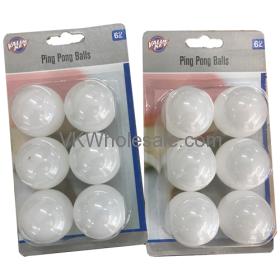PING PONG Balls 6CT - 48PK