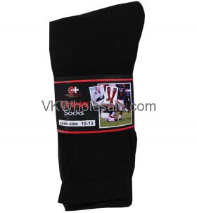 Crew Socks Black Wholesale