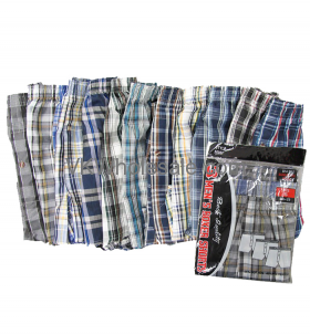 BOXER SHORTS 3 Pair Pack 12PC - ( S - XL )