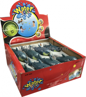 Swimming Shark Water TOYS 8 PC Display