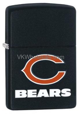 Zippo Lighter - NFL Chicago Bears Black Matte, Z704