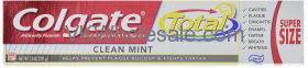 Colgate Total Anticavity Fluoride And Antigingivitis TOOTHPASTE, Clean Mint, Paste, 7.8 oz