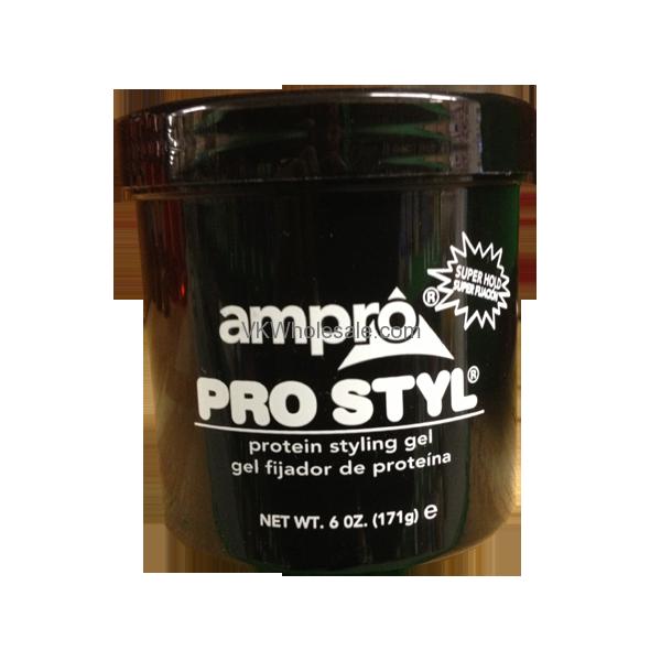 Ampro Pro Style Black Styling Gel Wholesale