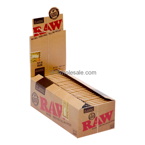 RAW Classic Paper 1 1/2 25 Booklet Display