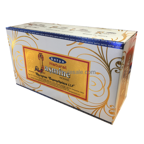 Nag Champa Satya Jasmine Incense 12CT