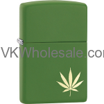 Zippo Marijuana Leaf Design Laser 29588 Lighters Wholesale