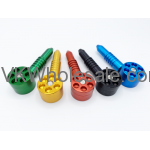 "4.5"" 6 Shooter Metal Tobacco Pipe Wholesale"
