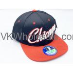 Chicago Summer Hat - Black & Red