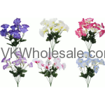 Moring Glory Bush Artificial Flower Wholesale