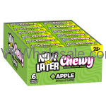 Now & Later Candy Apple Chewy 24/6 PCS Bars Wholesale