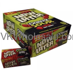 Now & Later Candy Extra Sour Cherry 24/6 PCS Bars Wholesale