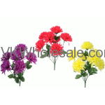 Spring Mum Bush Artificial Flower Wholesale