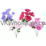 Spring Peony Bush Artificial Flower Wholesale