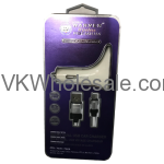 Premium Micro USB Dual Car Charger Warner Wireless Wholesale