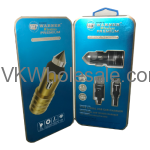 Premium Type C Dual USB Car Charger Warner Wireless Wholesale
