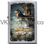 Zippo Windproof Gray Wolf Z1087 Wholesale