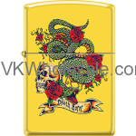 Zippo Classic Snake Skull Design Windproof Lighter Z2011 Wholesale