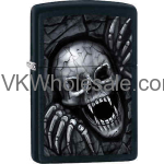 ZIPPO CLASSIC VAMPIRE Skull Black Matte Windproof Lighter