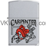 Zippo Classic Carpenter Satin Chrome Z282 Wholesale