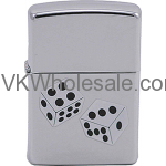 Zippo Classic Dice High Polish Chrome Z209