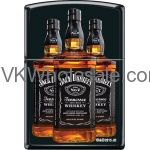 Zippo Classic Jack Daniel's Black Matte