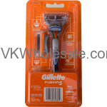 Gillette Fusion 5 Razor with 2 Blades Wholesale