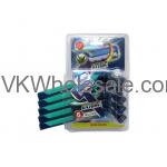 5PC Triple Blade Razors for Men Wholesale