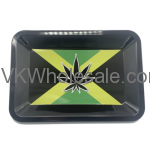 Rasta Leaf Rolling Tray Mini