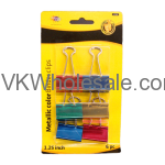 Metallic Color Binder Clips Wholesale