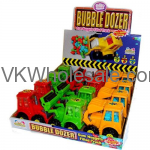 Kidsmania Bubble Dozer Gum Nuggets Filled Truck Toy Candy Wholesale