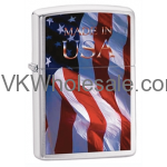Zippo Made in USA Flag Lighters Wholesale
