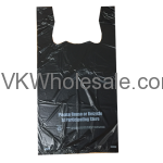 1/6 Heavy Duty T-Shirt Shopping Bags Wholesale
