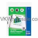 Top Loading Sheet Protectors Wholesale