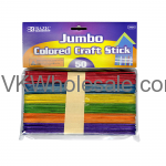 Jumbo Colored Craft Sticks Wholesale