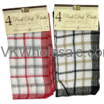 4PK Dish Cloth Wholesale