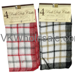 4PK Dish Cloth Wholesale