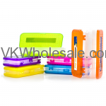 "8"" Bright Color Double Deck Organizer Box Wholesale"