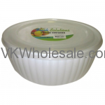 1.95 Liter Round Storage Container Wholesale