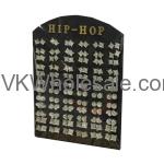 Hip Hop Earrings Set Display Wholesale